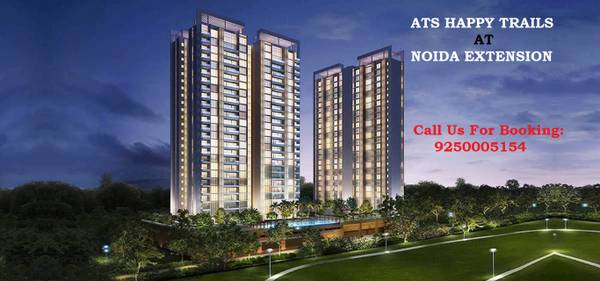 Book affordable 2 & 3 BHK Flats in ATS Happy Trails