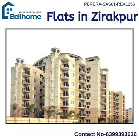 Flats in Zirakpur - BellHome Real Estate