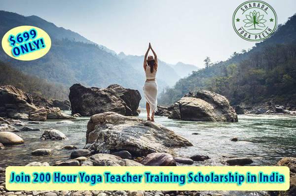 Join 200 Hour Yoga Teacher Training Scholarship in India