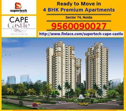Supertech Cape Castle Noida 4 BHK Flats in Noida 956009002