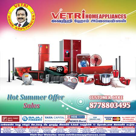 Best Home Appliances Store in Chennai