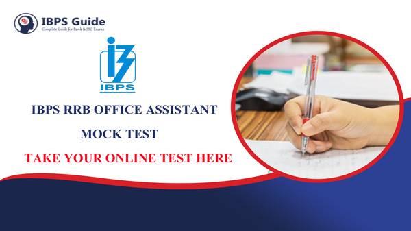 IBPS RRB Office Assistant Mock Test
