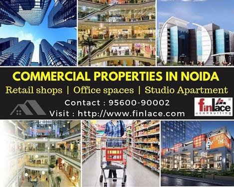 Commercial property in Noida Retail shop Office spaces Kiosk