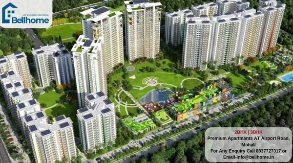 3BHK flats in Mohali - BellHome Real Estate