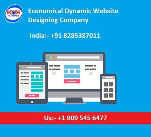 Economical Dynamic Website Designing Company in Delhi