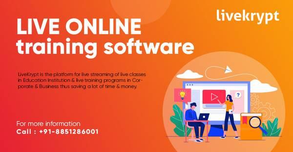 Live Online Training Software | Livekrypt