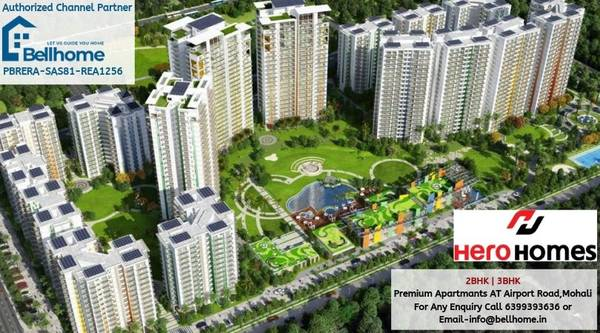 4BHK Flats in Mohali