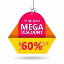 mega 60% discount offer for trader for Thursday