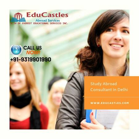EduCastles - Study Abroad Consultant in Delhi helps to study