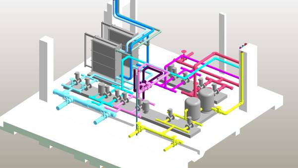 HVAC CAD Design & Drafting Services - Building Information