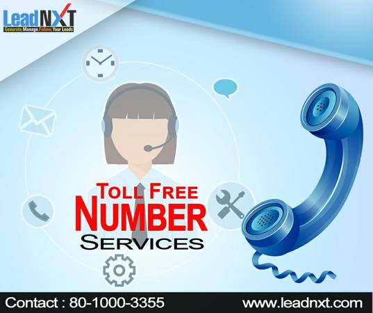 "How to Get a Toll Free Number In the India |"" leadnxt ""