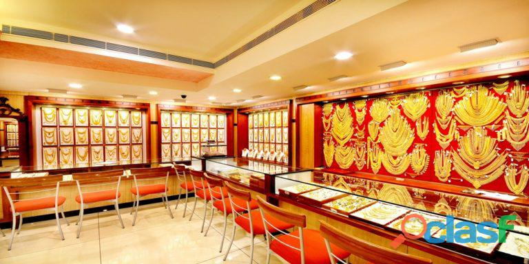 Sale of commercial Property with Branded jewellery showroom