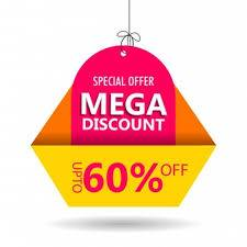 mega 60% discount offer for trader for tuesday