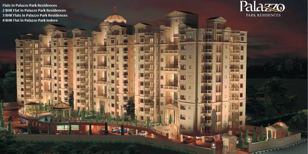 3 BHK Flats in Palazzo Park Residences