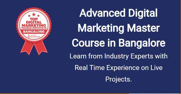 Best Digital Marketing Training Course in Marathahalli