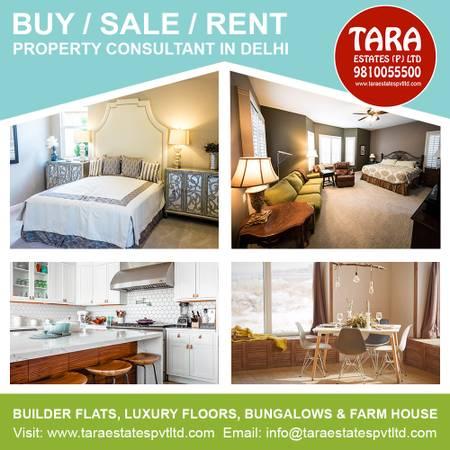 Builder floor for sale in shanti niketan-buy 4 bhk flat in