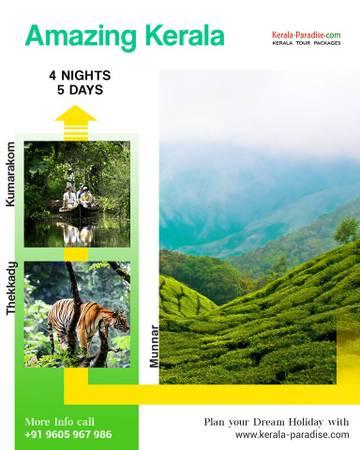 Explore the beauty of Kerala with Luxury Kerala tour