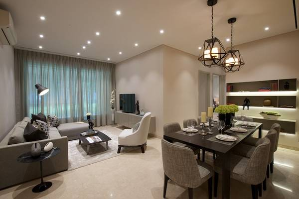 3 Bhk Apartment Rent Dlf New Tooen Heights 2 Sector 86