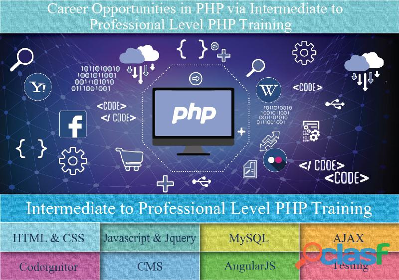Best PHP Training Course Institute in Gurgaon | SLA