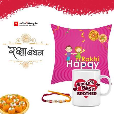 Buy & Send American Diamond Rakhi Online in India