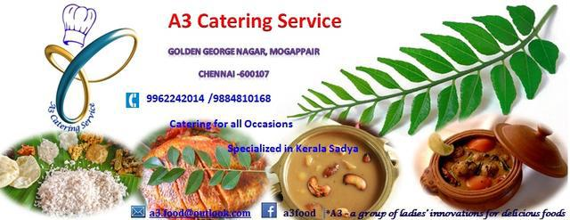 A3 Catering Service, Chennai