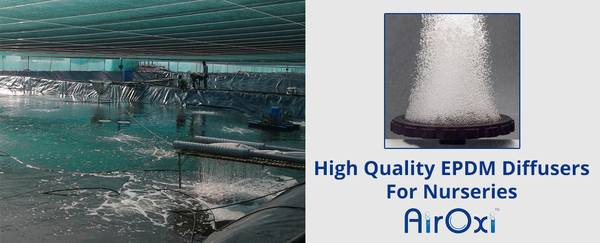 High Quality EPDM Diffusers For Nurseries - AirOxi Tube