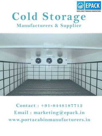 Indian Cold Storage Manufacturers