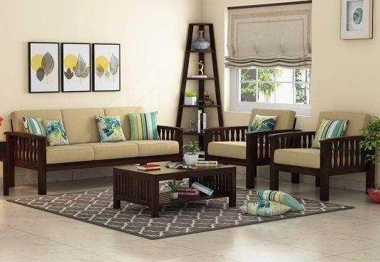 Fascinating Range in Wooden Sofa Design @ Wooden Street