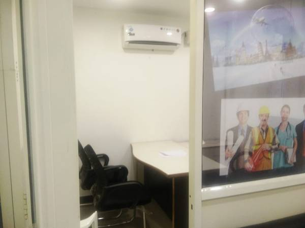 Furnished 250 sqft space for office on lease