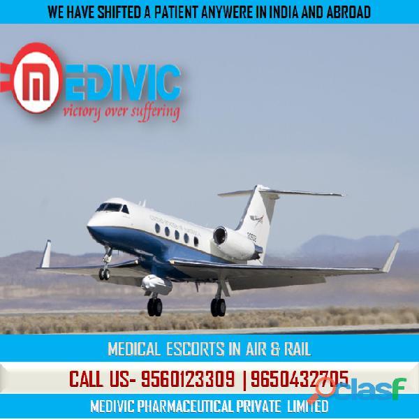 Use Immediate ICU Care Air Ambulance Service in Kolkata by