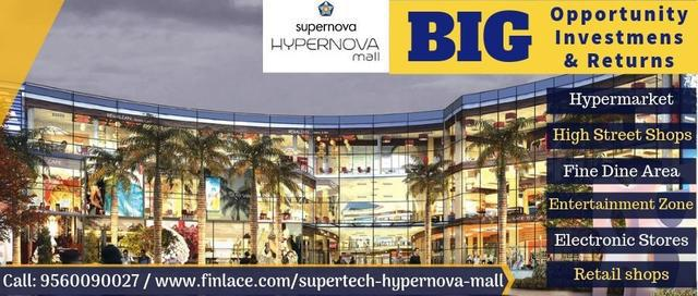 Supertch Hypernova Mall Investments starts from 17 lacs