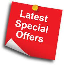latest special offer for Monday