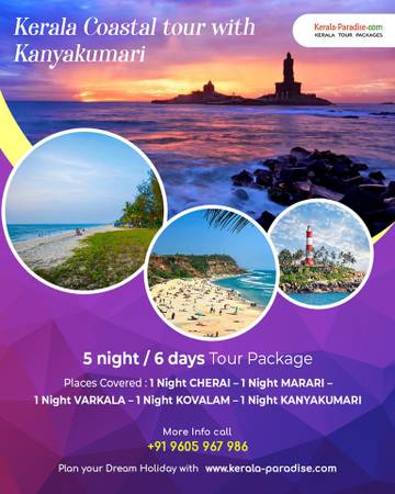 Explore the beauty of Kerala with Luxury tour package