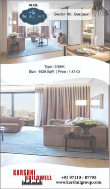 Sector 86 Gurugram 3 BHK Luxury Apartments DLF SKYCOURT