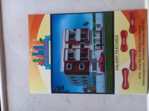 2 and 3 bhk flats for sale at Abiramapuram Near Thangal Park