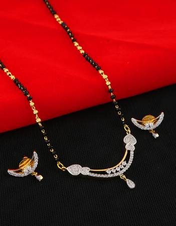 Shop for Long Mangalsutra Designs at Anuradha Art Jewellery.