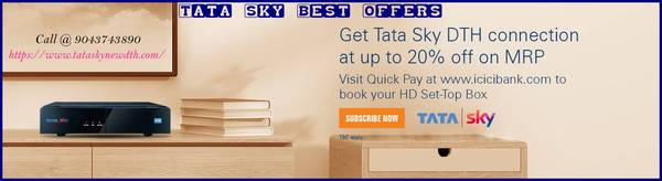 Tata Sky best offers  New Connection