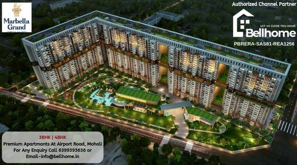 Flats for sale in Mohali - BellHome Real Estate