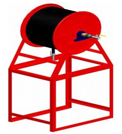 Buy Carbon Steel Horizontal Type Hose Reel at Aaag India