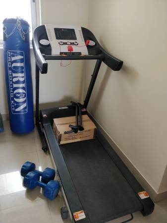 Powermax Treadmill TDM 100M and other fitness equipment