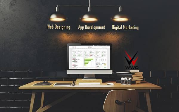 Tech firm dealing with web design, web developer & app