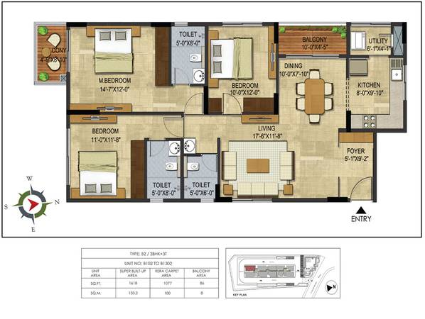 2/3 Bhk Flats/Apartments For Sale In Thanisandra Bangalore |