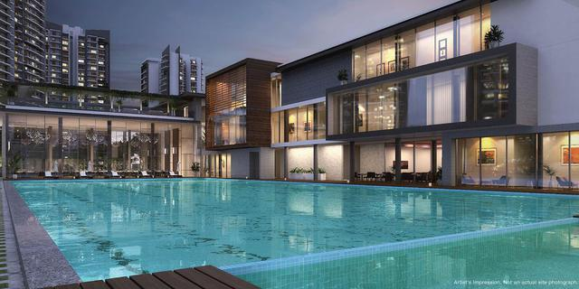 Luxurious 2 BHK apartments GODREJ MERIDIEN Luxury Apartments