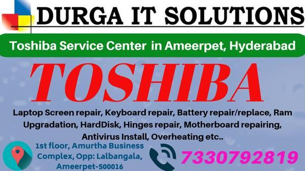 Toshiba service center in Ameerpet, Hyderabad