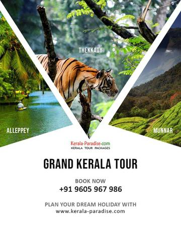 Best places visit in Kerala with destination holiday in