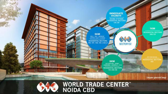 WTC Noida CBD bring Retail office Space commercial in noida