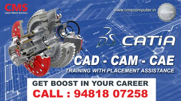 Best CAD, CAM, CAE & Catia Training Institute in Bangalore