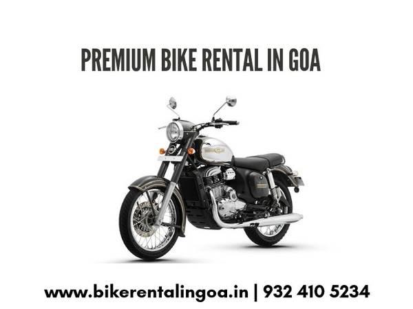 Bike on Rent in Goa - Goa Bikes Inc.