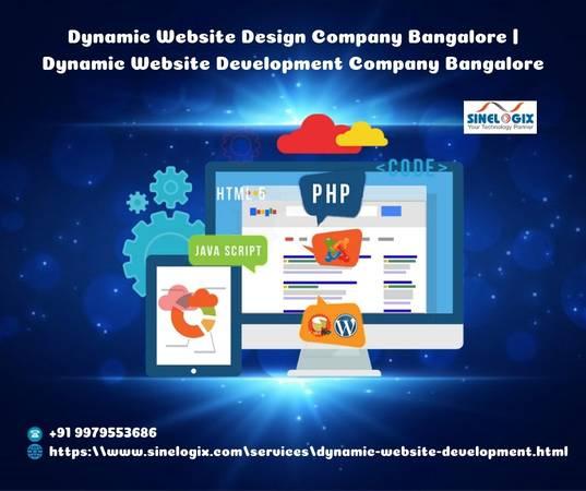 Dynamic Website Design Company Bangalore | Dynamic Website