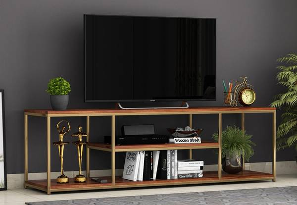 Explore the Amazing Solid Wood Tv Units in Gurugram | Wooden